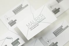 Visual Identity Inspiration: Maurer by Hidden Characters | Abduzeedo | Graphic Design Inspiration and Photoshop Tutorials