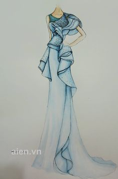 Dress Design Sketches, Fashion Design Sketchbook, Fashion Design Portfolio, Fashion Design Drawings, Fashion Sketches, Croquis Fashion, Fashion Drawing Dresses, Fashion Illustration Dresses, Dress Illustration