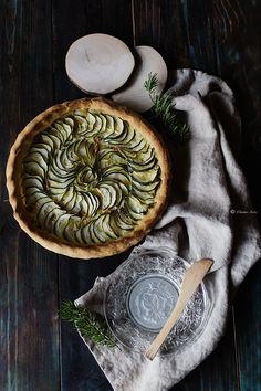 Pasta #brisse in my zucchini pie  by #cintiasoto