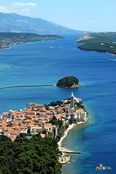 Rab, Croatia. An island of the coast of Northern Croatia that is 14 miles long and 36 square miles. During WWII Facist Italy established a concentration camp on the island.