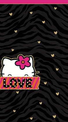 Christmas chevron graphics pinterest hello kitty kitty and pretty walls tjn sanrio charactersholiday wallpaperiphone voltagebd Image collections