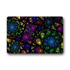 "MODEL FOR MOSAIC: DONGMEN Stained Glass Outdoor/Indoor Rug/Doormat 18"" x 30... http://www.amazon.com/dp/B01F6SWZ5S/ref=cm_sw_r_pi_dp_XHAmxb10F1CY6"