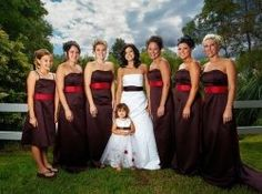 Chocolate Brown And Red Is A Great Combo Of The Masculine Feminine Find Ideas Inspiration On Having Wedding Theme