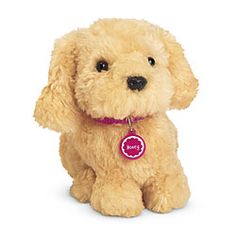 I saw these American Girl pets at Costco and I want them all! American Girl® Accessories: Honey® Pet Set