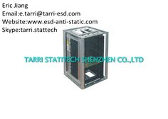 Metal ESD Storage , Anti Static ESD Magazine Rack 355×320×563 MM High Temperature Resistance