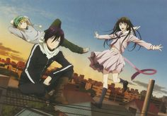 Anime Noragami Yato (Noragami) Yukine (Noragami) Hiyori Iki Fondo de Pantalla