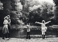 Stone fall - 50 Examples of Family Photography  <3 <3