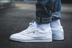 Reebok Club C 85: On-Foot in Four Colorways - EUKicks.com Sneaker Magazine
