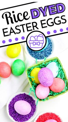 Easter Projects, Easter Crafts, Holiday Crafts, Easter Egg Dye, Hoppy Easter, Easy Holiday Recipes, Easter Recipes, Toddler Arts And Crafts, Crafts For Kids