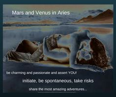Today, Mars transits Aries until the end of March) in its own sign in a stellium with the Moon and Venus helping us to initiate activities, be spontaneous and take risks. Watch for being impulsive and not so sensitive to the feelings of others. Venus also moves into Aries today. Those that are single can pursue a potential partner enthusiastically and initiate a relationship. Make sure you don't come on a bit too strongly! www.lisagates.co.uk