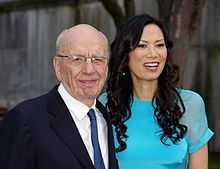 Murdoch with his third wife, Wendi, in 2011 - Wikipedia, the free encyclopedia
