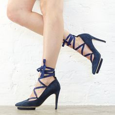 Roccamore blue pumps