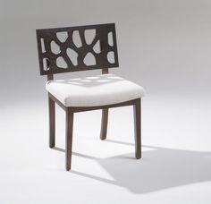 AFRICA PATTERN SIDE CHAIR #hoyos #designerfurniture #contemporarychair