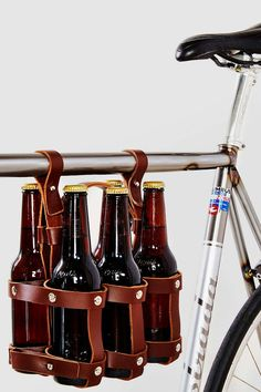 This Fyxation Six-Pack Bike Caddy is perfect for your boyfriend or husband who loves having beer on the go.