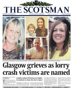 Covering the Glasgow bin wagon tragedy