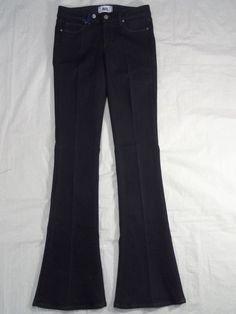 PAIGE DENIM twilight LOU LOU SKINNY FLARE dark blue women's jeans SIZE 27