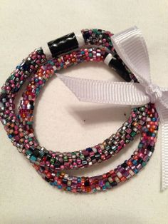 "Pearlement, Inc. - LILY and LAURA Bracelet Set of 2 - ""EXUBERANT"" Confetti Mix, $30.00 (http://www.pearlement.com/lily-and-laura-bracelet-set-of-2-exuberant-confetti-mix/)"