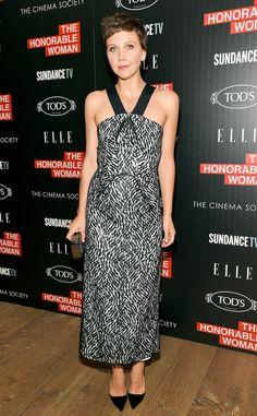 Maggie Gyllenhaal in Roland Mouret
