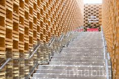 Hundreds of recycled apple crates make up the Polish Pavilion at the 2015 Milan Expo | Inhabitat - Sustainable Design Innovation, Eco Architecture, Green Building