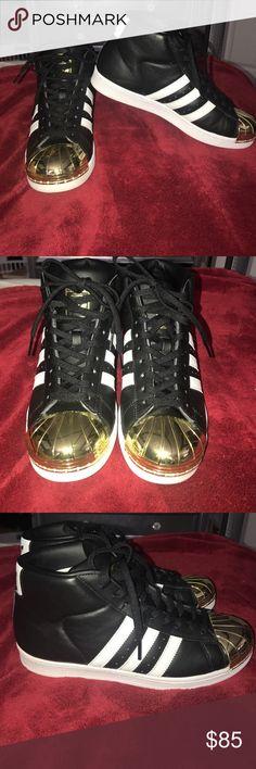 adidas superstar metal toe high