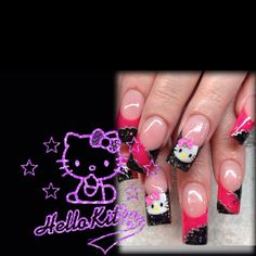 Hello Kitty Nails Hello Kitty Nails, Cat Nails, Products, Gadget