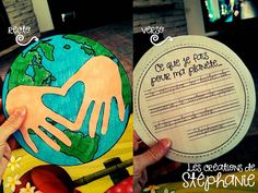 Les créations de Stéphanie: J'aime ma planète