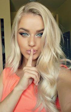 Blonde done perfect ...can't tell u my secret!
