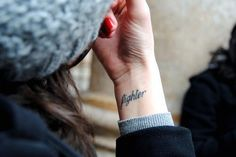 Your personal anthem:   65 Totally Inspiring Ideas For Wrist Tattoos