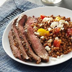Mediterranean Couscous and Beef (diab)