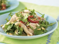 It's the dressing that puts the 'thai' into this Thai chicken salad. Sweet, sour and salty flavours bathed in rich coconut milk take this dish from a mere salad to a culinary experience. Thai Chicken Salad, Chicken Salad Recipes, Sweet Chilli Sauce, Asian Recipes, Ethnic Recipes, Meat Chickens, Fish Sauce, Spring Rolls, Shredded Chicken