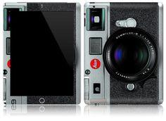 Apple iPad 1 2 Decal Skin Cover   Retro Leica M9 by stickitskins, $19.95