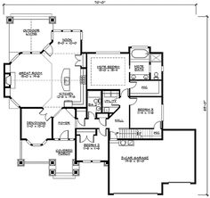 Rambler house on pinterest rambler remodel rambler for Rambler floor plans with bonus room
