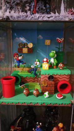 Mario Bros Diorama