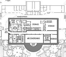 Sub-Basements - White House Museum added in 1952 Historical Architecture, Art And Architecture, Washington Dc Attractions, White House Plans, White House Washington Dc, White House Interior, Old Pictures, Basements, Palaces