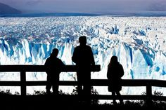 Never-Ending Ice.  Argentina's Perito Moreno Glacier, a sea of ice 19 miles (30 kilometers) long and up to 558 feet (170 meters) deep