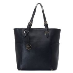 43aa9bc83886 Michael Kors Jet Set Zip-top Tote Black Pebbled Leather With Black Leather  Handles, Price: - Pandora Jewelry: Official Website