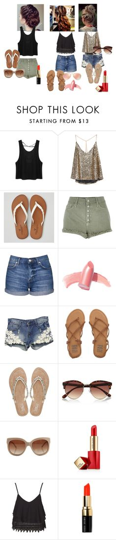 """""""EYM Xxx"""" by yazy972 on Polyvore featuring American Eagle Outfitters, River Island, Topshop, Elizabeth Arden, Billabong, M&Co, STELLA McCARTNEY, Estée Lauder, Bobbi Brown Cosmetics and Ray-Ban"""