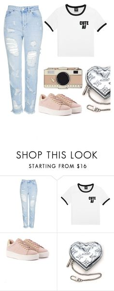 """""""fashion"""" by camillyraiterb ❤ liked on Polyvore featuring Topshop, Louis Vuitton and Kate Spade"""