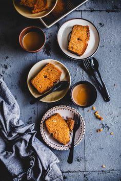 Carrot cardamom cake