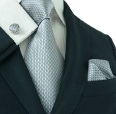 Gifts for Him:  50 Shades of Grey Tie, Pocket Square, & Cufflinks at Amazon
