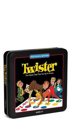 Bring back an oldie for family fun night | Winning Solutions® Twister Board Game - Nostalgia Edition Game Tin