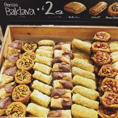 Think Im gonna live here forever baklava london food foodarthellip