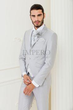 EG 62-16 #sposo #groom #suit #abito #wedding #matrimonio #nozze #grigio #grey