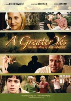 """A Greater Yes, DVD. Amy Newhouse faces the biggest challenge of her life: cancer. When her prayers for healing are met with an apparent """"no"""" from God, will her death bring despair---or an even greater victory?"""