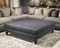2017F-5556 Ottoman from @Huntington House Furniture - High Point Furniture Market 2013 #hpmkt