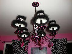 Image Detail For Zebra Chandelier Mural Room Décor Carousel Designs Dream Pinterest Carouselurals