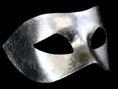 Masquerade Mask - Silver