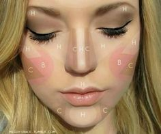 I thought you ladies might enjoy this contouring map for spring - Imgur