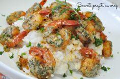 Shrimp, Chicken, Meat, Food, Essen, Meals, Yemek, Eten, Cubs