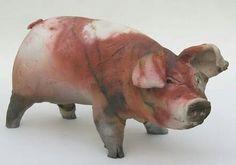 Ceramic piggy – Ronnie Gould